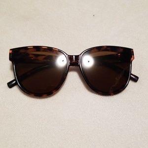 J. Crew tortoise cat eye sunglasses